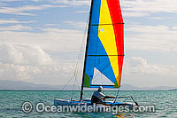 Hobi-cat sailing Hayman Island Photo - Gary Bell