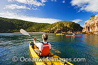 Sea kayaking at Hayman Island Whitsunday Islands Photo - Gary Bell