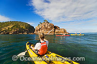 Sea kayaking at Hayman Island Photo - Gary Bell