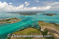 Torres Strait Islands aerial photo