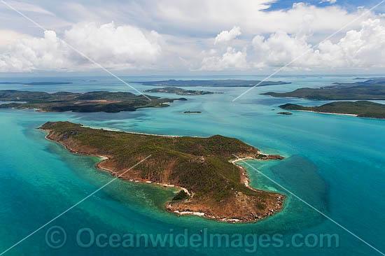 Torres Strait Islands Queensland Australia Torres Strait Islands Aerial