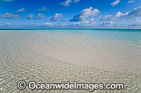 Tidal ripples beach Cocos Islands Photo - Gary Bell