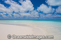 Tropical beach and lagoon Photo - Gary Bell
