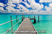 Jetty Cocos Keeling Islands photo