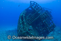 Sea vessel artificial reef Florida Photo - Michael Patrick O'Neill