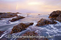 Sawtell Beach headland photo