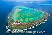 One Tree Island with Wistari Reef Photo - Gary Bell