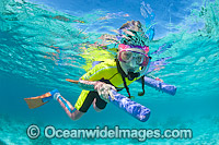 Children Snorkeling Heron Island Photo - Gary Bell