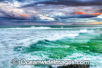 Stormy Sawtell Seascape photo
