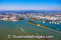 Gladstone Harbour aerial photo