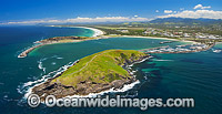 Coffs Harbour aerial photo