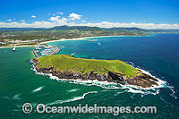 Coffs Harbour Jetty aerial photo