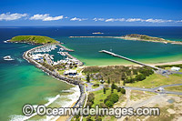 Coffs Harbour residential jetty area photo