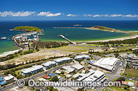 Aerial Coffs Harbour Jetty photo