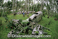 World War II Japanese plane wreck Photo - Bob Halstead