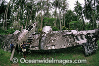 World War II Japanese aircraft wreck Photo - Bob Halstead