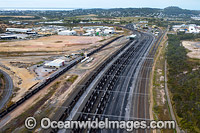 Gladstone coal Train lines Photo - Gary Bell