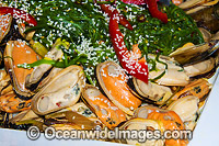 Mussel Seafood Photo - Gary Bell