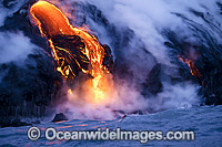 Lava Kilauea Volcano photo