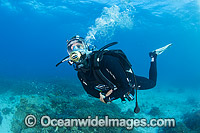 Diver underwater communications mask Photo - Gary Bell