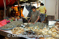 Dried Fish at Fish Market