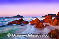 Port Stephens at sunset