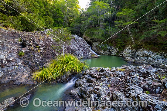 Woolgoolga Creek Rockpools, situated in Sherwood Nature Reserve, Mid North Coast near Woolgoolga, New South Wales, Australia. Photo - Gary Bell