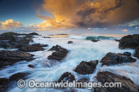 Sawtell Seascape at sunset