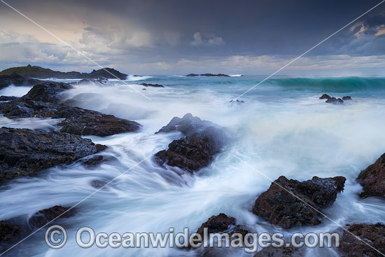Coastal Seascape at Sawtell, situated near Coffs Harbour, New South Wales, Australia. Photo - Gary Bell