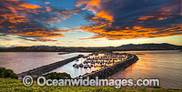Coffs Harbour Marina at Sunset Photo - Gary Bell