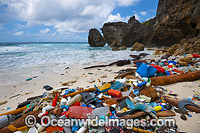 Pollution on Christmas Island photo
