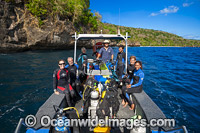 Scuba Divers Christmas Island Photo - Gary Bell