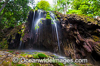 Waterfall Christmas Island Photo - Gary Bell