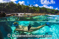 Snorkel Diving Christmas Island Photo - Gary Bell