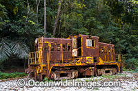 Rusty train Christmas Island Photo - Gary Bell