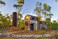 Historic gold and antimony mill Photo - Gary Bell