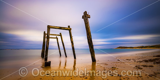 Old Jetty, Cat Bay, Phillip Island, Victoria, Australia. Photo - Gary Bell