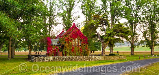 Gostwyck Chapel, near Armidale, Northern Tablelands, New South Wales, Australia. Photo - Gary Bell