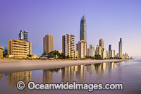Surfers Paradise in the morning Photo - Gary Bell