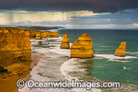 Twelve Apostles at sunset Photo - Gary Bell