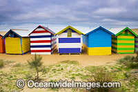 Brighton Beach Boatsheds Photo - Gary Bell