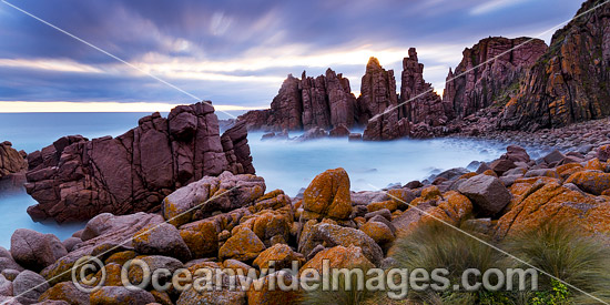 The Pinnacles, Cape Woolamai Faunal Reserve, Phillip Island, Victoria, Australia. Photo - Gary Bell