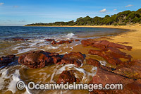 Red Rocks Beach Phillip Island Photo - Gary Bell