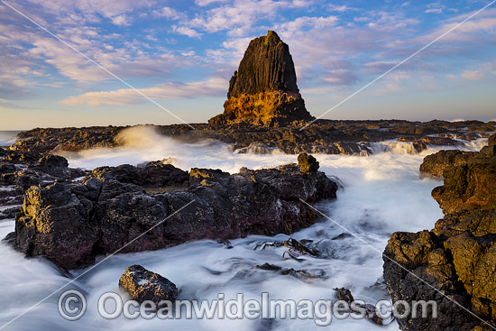 Sunrise over Pulpit Rock. Cape Schanck, Mornington Peninsula, Victoria, Australia. Photo - Gary Bell