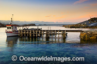 Jetty Bicheno Tasmania photo