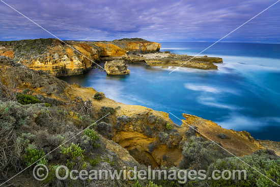 The Bay of Islands Coastal Park, situated on the Great Ocean Road, near Peterborough, Victoria, Australia. Photo - Gary Bell
