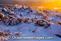 Mount Wellington at sunrise Photo - Gary Bell