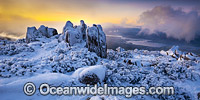 Mount Wellington with snow image