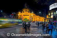 Flinders Street Station Melbourne photo