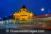 Flinders Street Melbourne photo